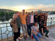 Recording Arts Students in Prague