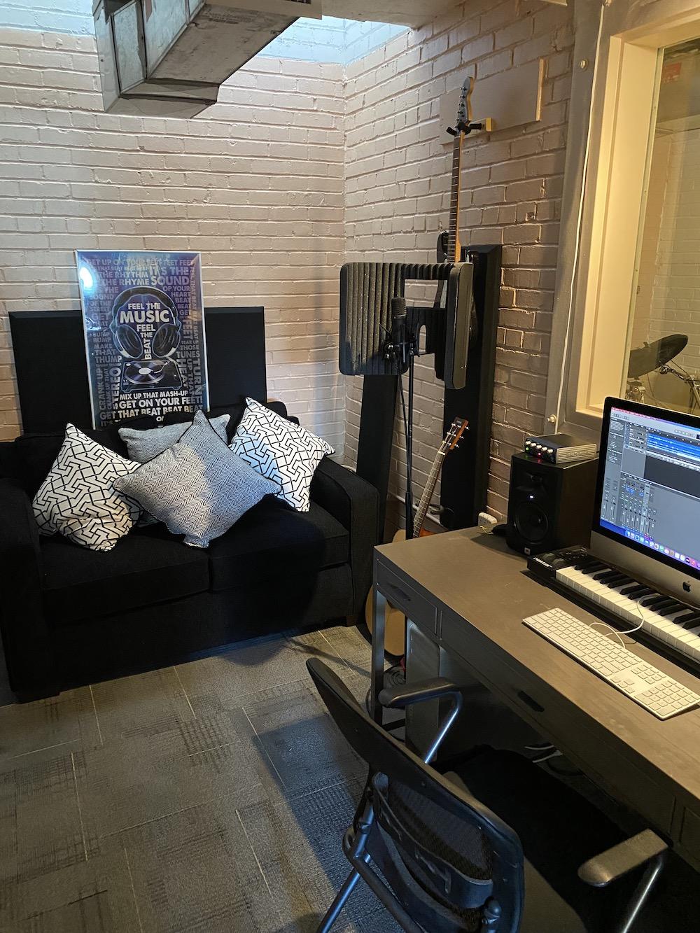 Urban Peak Shelter music studio